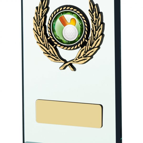 "5.25"" GLASS PLAQUE AWARD"