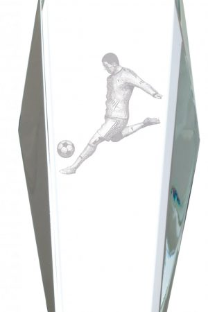 "10.5"" FOOTBALL GLASS AWARD"
