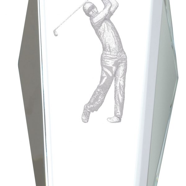 "10.5"" GOLF GLASS AWARD"