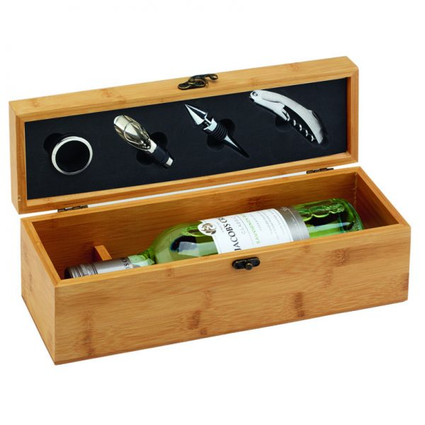 Bamboo Single Wine Set