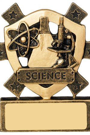 "3 1/8""SCIENCE MINI SHIELD"